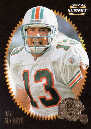Cromo de Dan Marino (Pinnacle)
