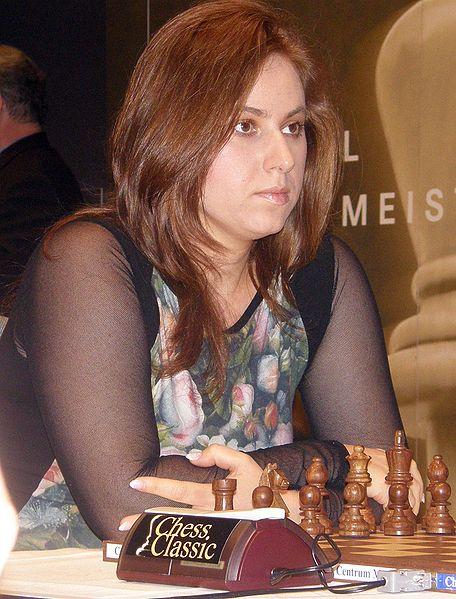 Judith Polgár, en un torneo en México (Archivo 20minutos).
