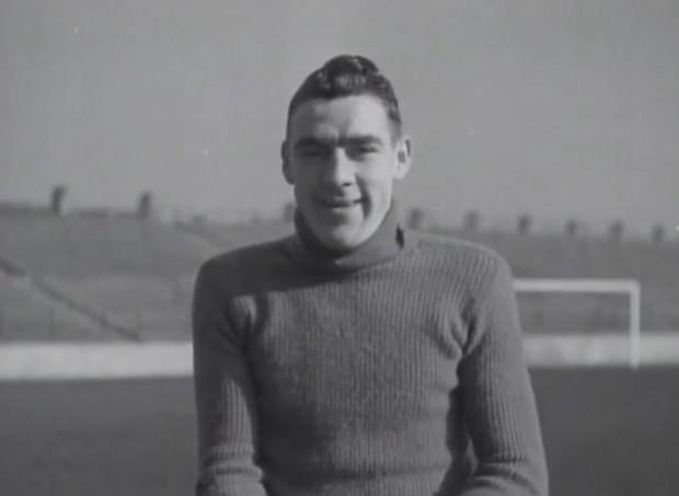 Frank Swift, en sus inicios como portero del City (Archivo 20minutos).