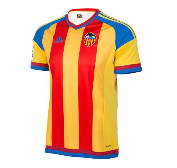 Segunda camiseta del Valencia para la 2015/2016 (Valencia CF).