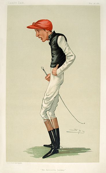 Caricatura de Archer publicada por 'Vanity Fair' el 28 de mayo de 1881 (WIKIPEDIA).