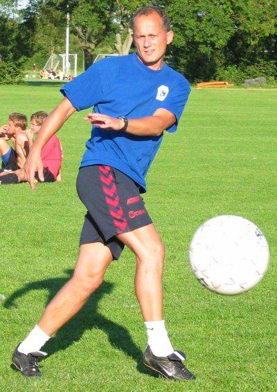 Imagen reciente de Christensen, ya como entrenador (WIKIPEDIA).
