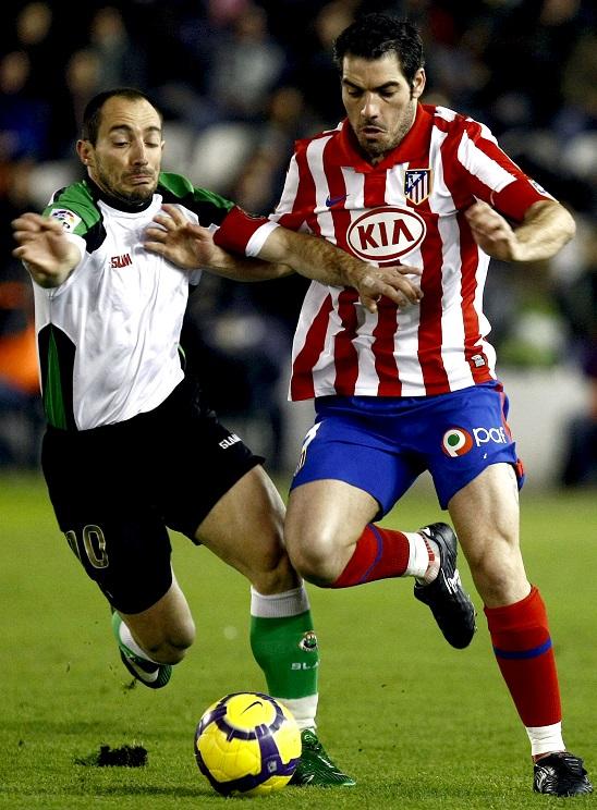 Antonio López, en El Sardinero, en un partido de la temporada 2009/2010 (Archivo 20minutos).