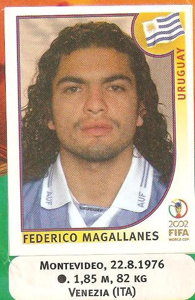 Cromo de Magallanes para el Mundial de 202 (PANINI).