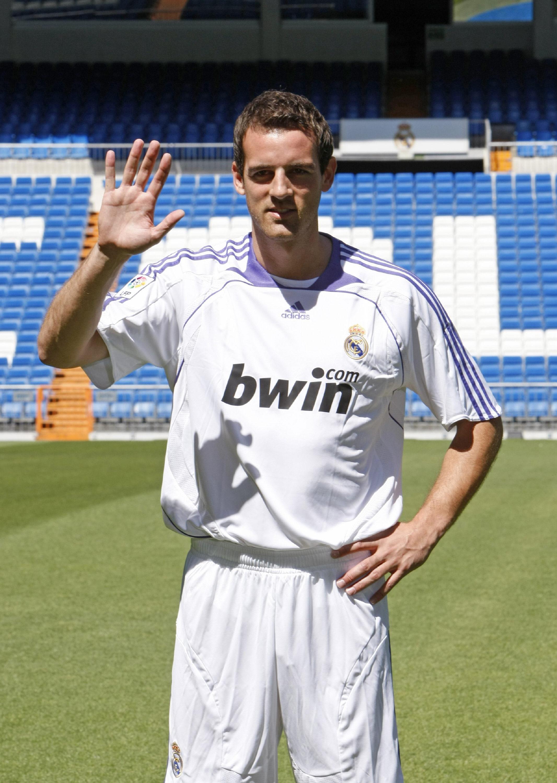 Christoph Metzelder, durante su presentación como jugador del Real Madrid en julio de 2007 (Archivo 20minutos).