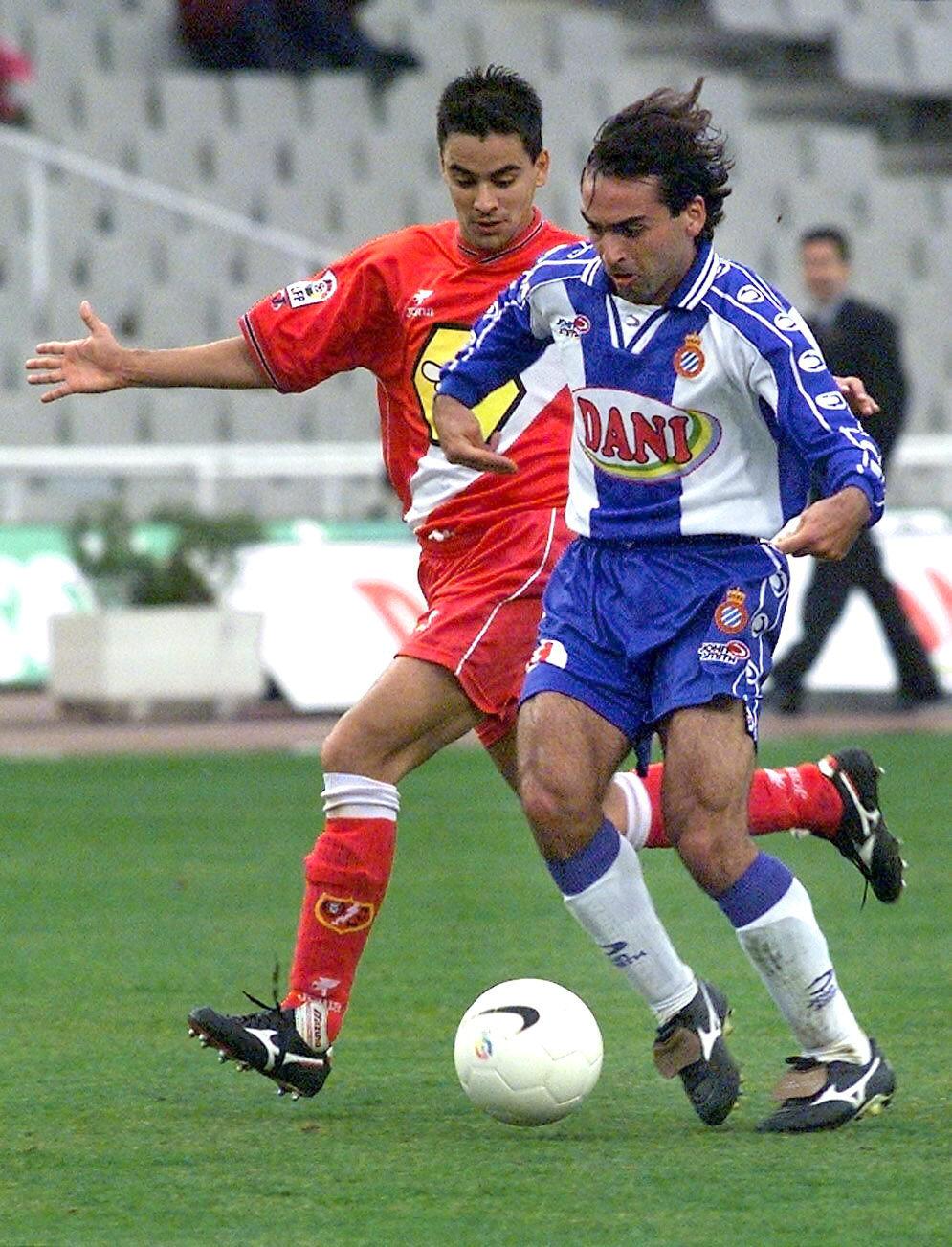 Martin Posse, en un partido con el Espanyol ante el Rayo Vallecano (Archivo 20minutos).