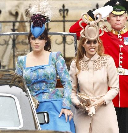 Los vestidos mas feos de la boda real