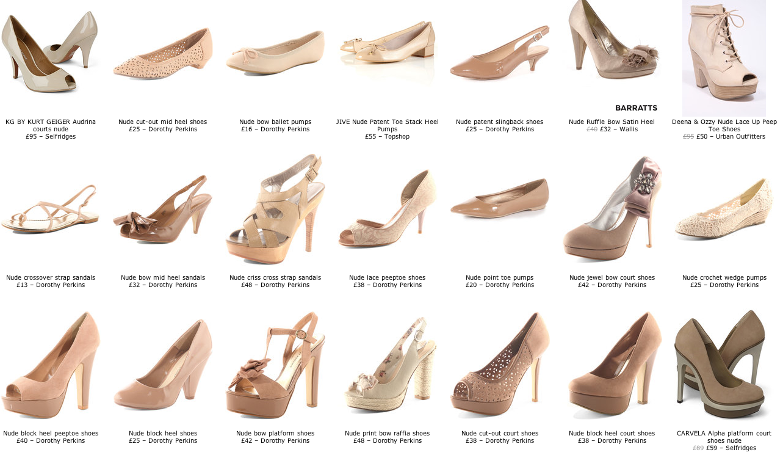 Para terminar, os dejo con estos zapatos de Zara . ¡Me encantan!