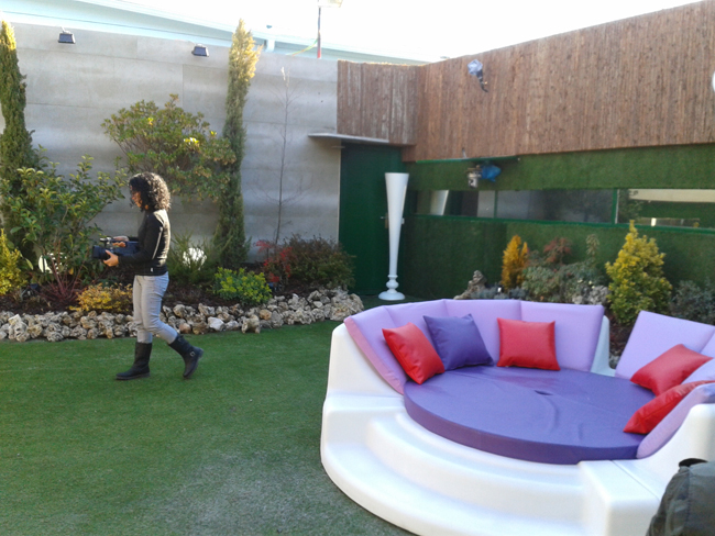 Gran hermano 12 1 reality blog show for Jardin chico casa