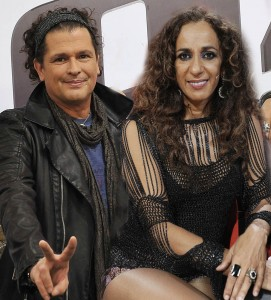 Montaje con Carlos Vives y Rosario (Fotos: Telecinco).