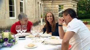 Paulina, Ángel y Serafín en ¿Quién quiere casarse con mi madre?