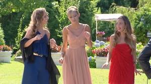 Paulina, Luján y Blanca en ¿Quién quiere casarse con mi hijo? (CUATRO)