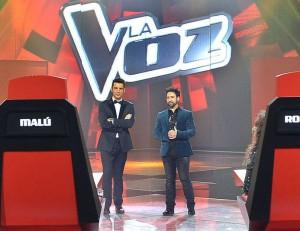 Silverio y Jesús Vázquez en La Voz