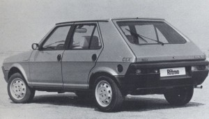 Un Seat Ritmo (productioncars)