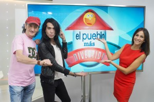 El jurado de El pueblo más divertido de España, Aún felices, antes de que empezara el programa.