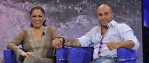 Pantoja y Paquirrín, cuando aún eran amiguitos de Telecinco.