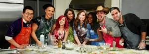 Los concursantes de Novatos en la Cocina (MTV)