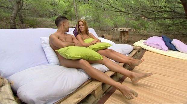 Alejandro y Sonia, de 'Adán y Eva', recataditos.