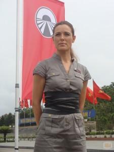 Raquel Sánchez Silva, más chula que un ocho, en Pekín Express (CUATRO).