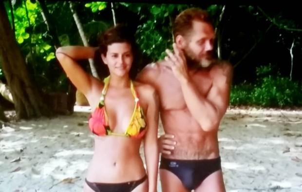 Lola y Nacho, en posturitas (Telecinco)