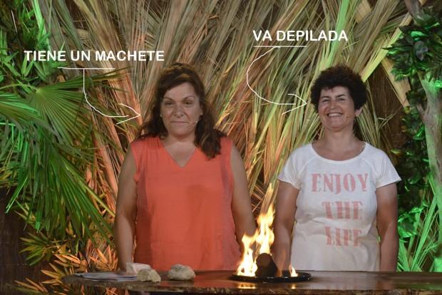 María José y Maricarmen, ellas mismas. (TELECINCO)