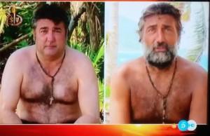 Rafi Camino, antes y después. (TELECINCO)