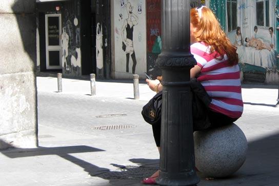 prostitución voluntaria prostitutas calle desengaño
