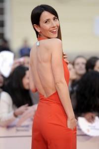 La actriz en el último Festival de Málaga. (GTRES)