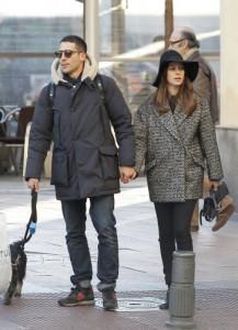 La pareja paseando por Madrid a finales de diciembre (GTRES)