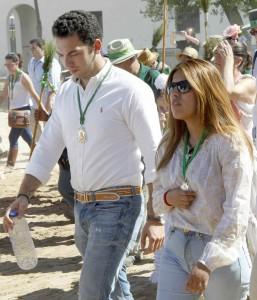 Chabelita y Alberto en el rocío (GTRES).