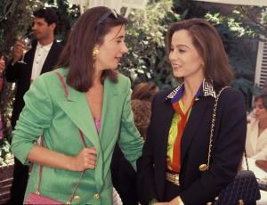 Isabel y Carmen en un acto público en 1980 (GTRES).