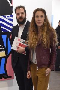 Borja y Blanca hoy mismo en ARCO. (GTRES)