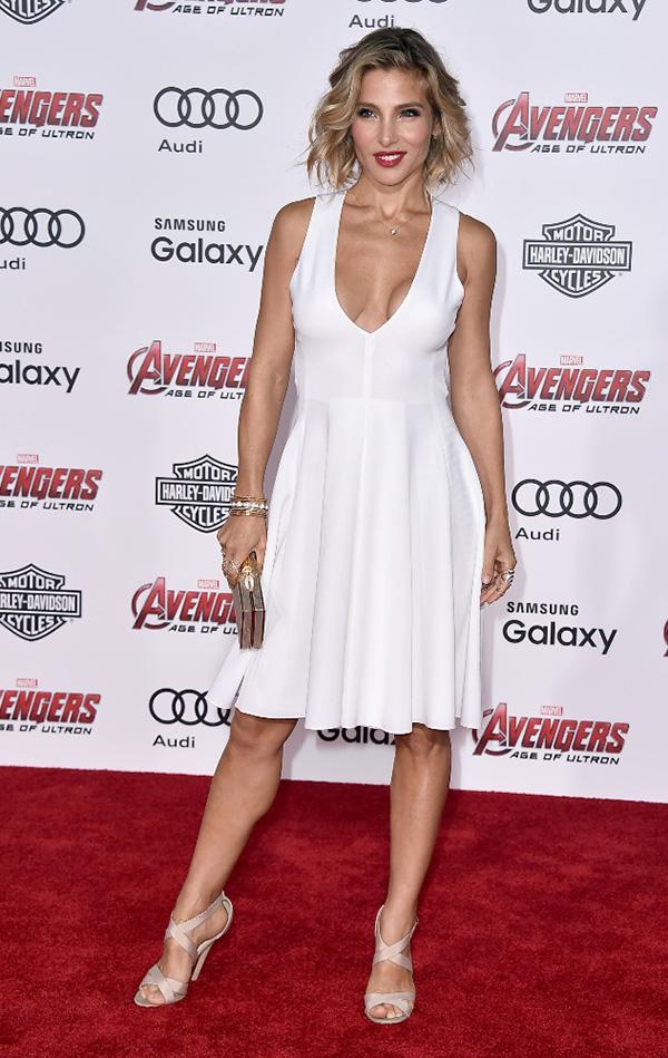 Elsa Pataky, espectacular en el estreno de 'Los vengadores' en Los Ángeles hace unos días.