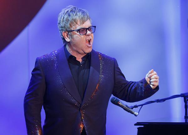 Elton John © Gtres