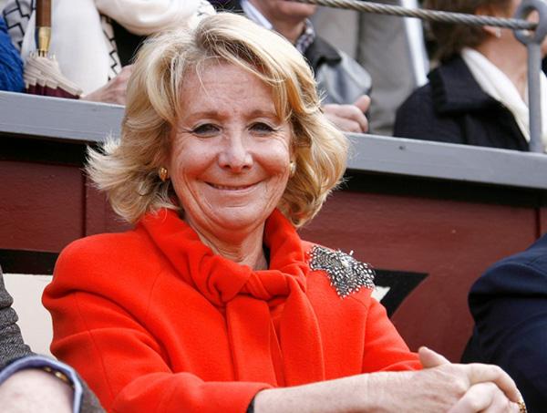 Esperanza Aguirre, en una foto de archivo. © Gtres
