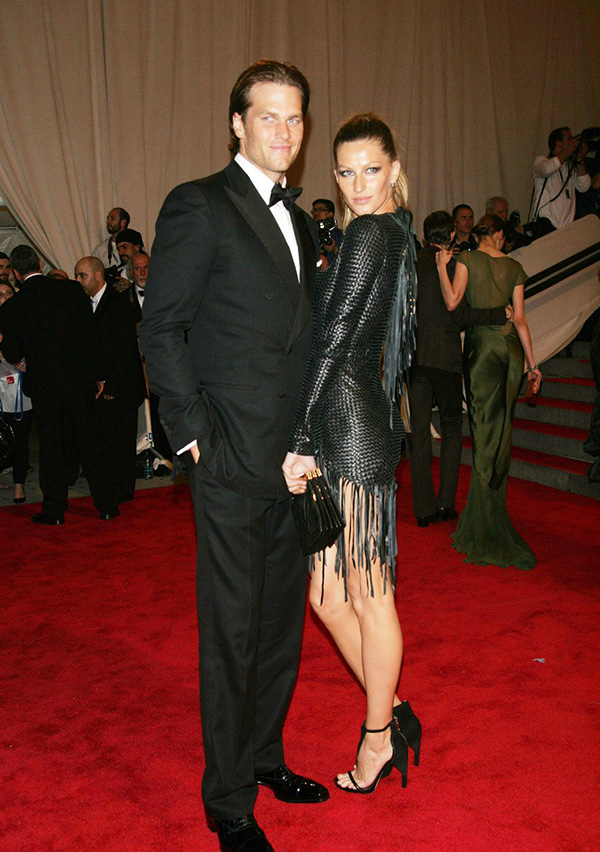 Tom Brady y Gisele Bundchen © Gtres