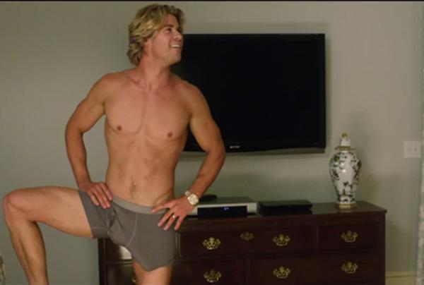 Chris Hemsworth, en una imagen del trailer de 'Vacation'