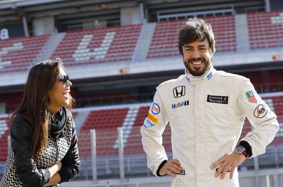 Foto: Fernando Alonso subió esta foto a su cuenta de Twitter el pasado 26 de marzo