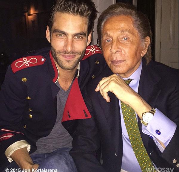 Con Valentino Foto: IG ©kortajarenajon