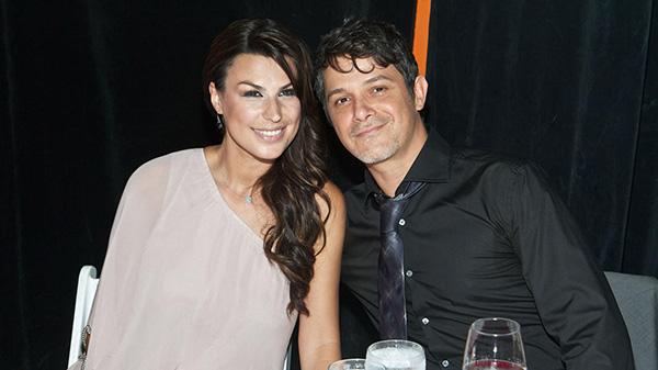 Alejandro Sanz y su mujer, Carla Perera. Foto: © Gtres