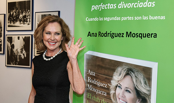 Ana Rodríguez, en la presentación de su libro en Madrid. © Gtres