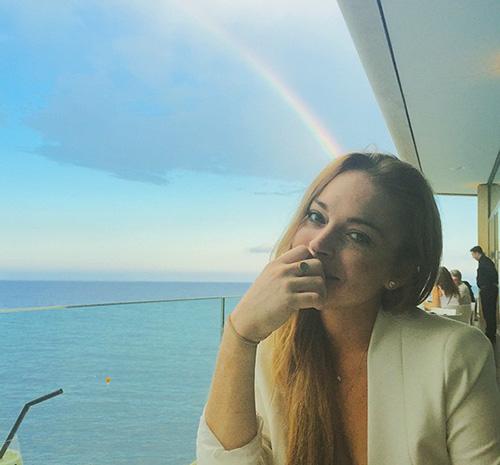 Lindsay Lohan. Foto: Instagram @lindsaylohan