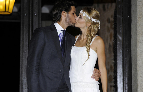 Feliciano López y Alba Carrillo. Sí quiero. © Gtres