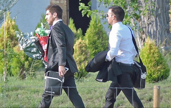 Alejandro y David, preparados para el sí quiero. © Gtres