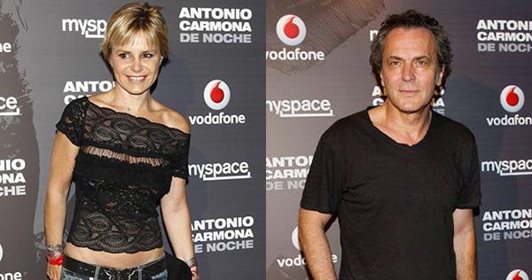 Eugenia Martínez de Irujo y José Coronado estuvieron en el mismo concierto, en julio de 2011.