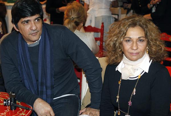 Pablo Durán y Lolita, hace algunos años. © Gtres