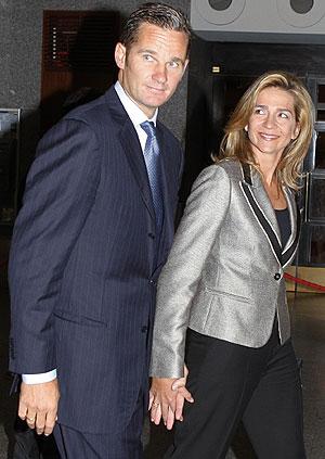 Iñaki Urdangarin y Cristina de Borbón