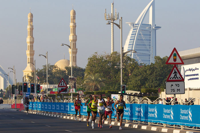Fuente: Dubai Marathon.