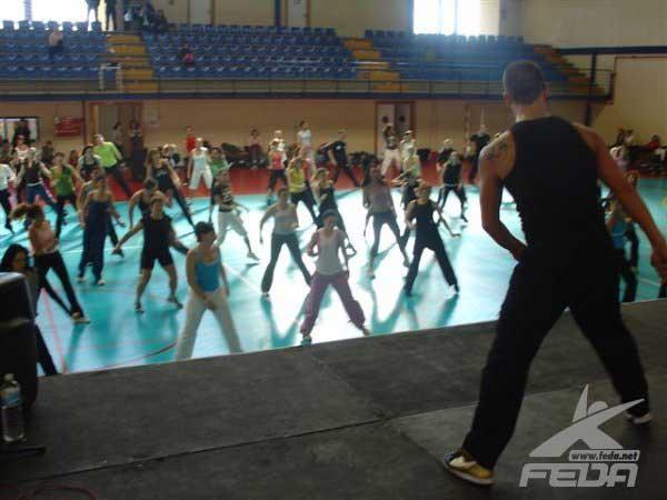 ejercicios aerobicos sin impacto