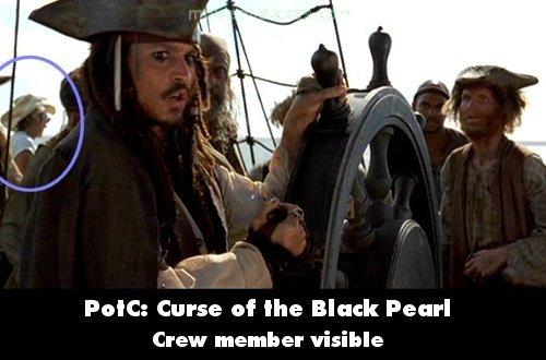 Errores del cine, si señor  Piratasdelcaribe